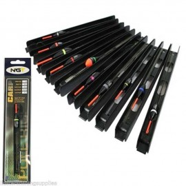 Pack of 10 Assorted 'Carp' Pole Rigs