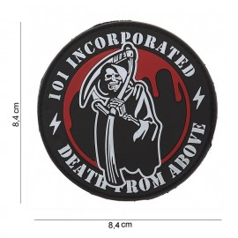 EMBLEEM 3D PVC 101 INC DEATH FROM ABOVE  12042