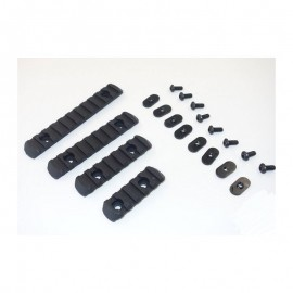 MO RAIL SECTION SET (EX254), BLACK