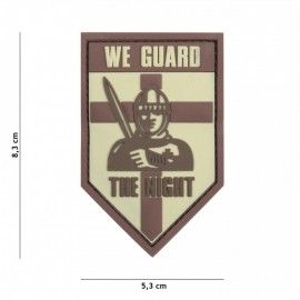 EMBLEEM 3D PVC WE GUARD THE NIGHT COYOTE  13111