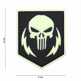 EMBLEEM 3D PVC PUNISHER THUNDER STROKES CLOW IN THE  19085