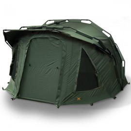 Visserstent 2 Man 'Fortress' Bivvy hooded Groen waterdicht